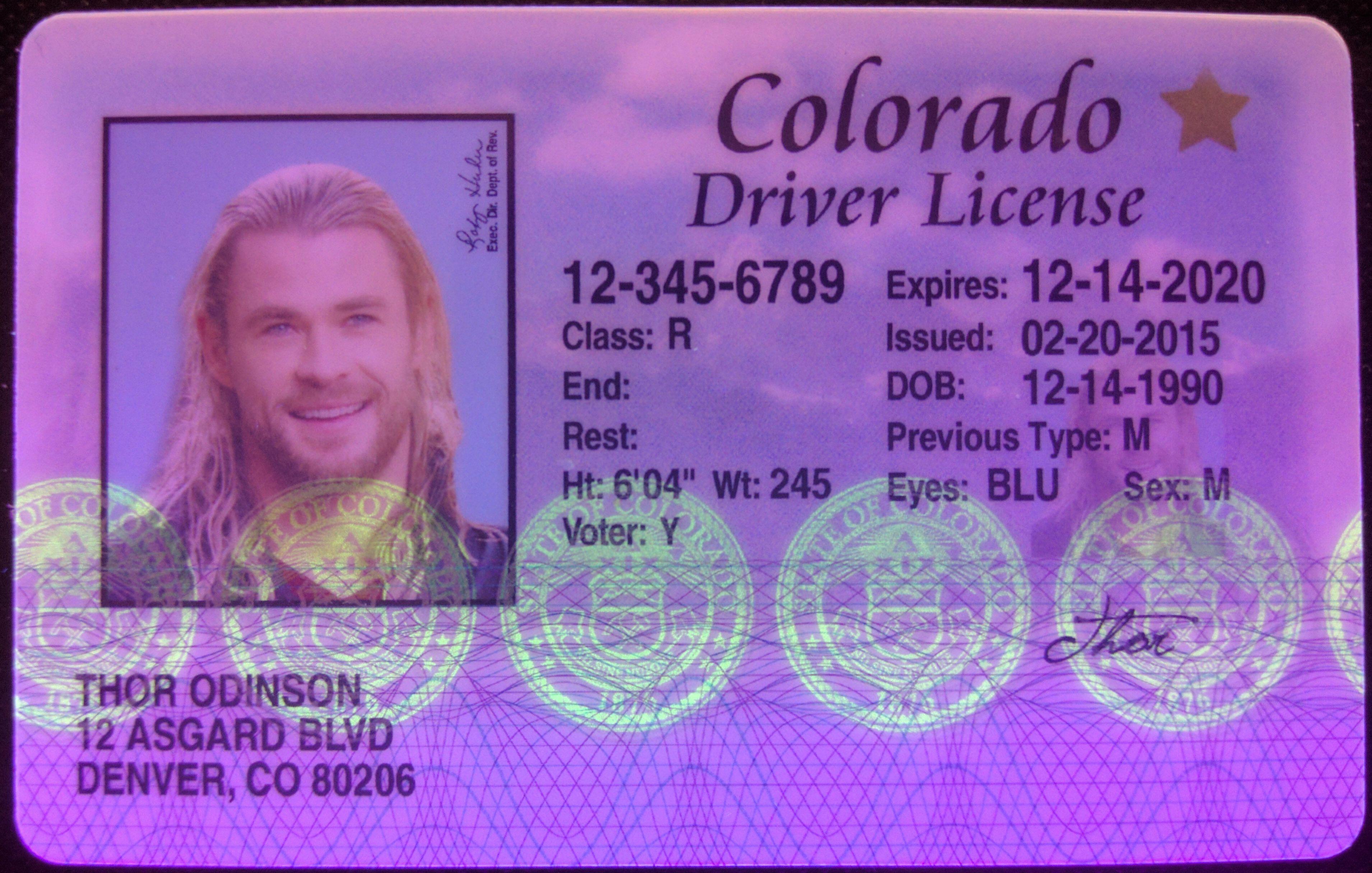 drivers license renewal requirements colorado