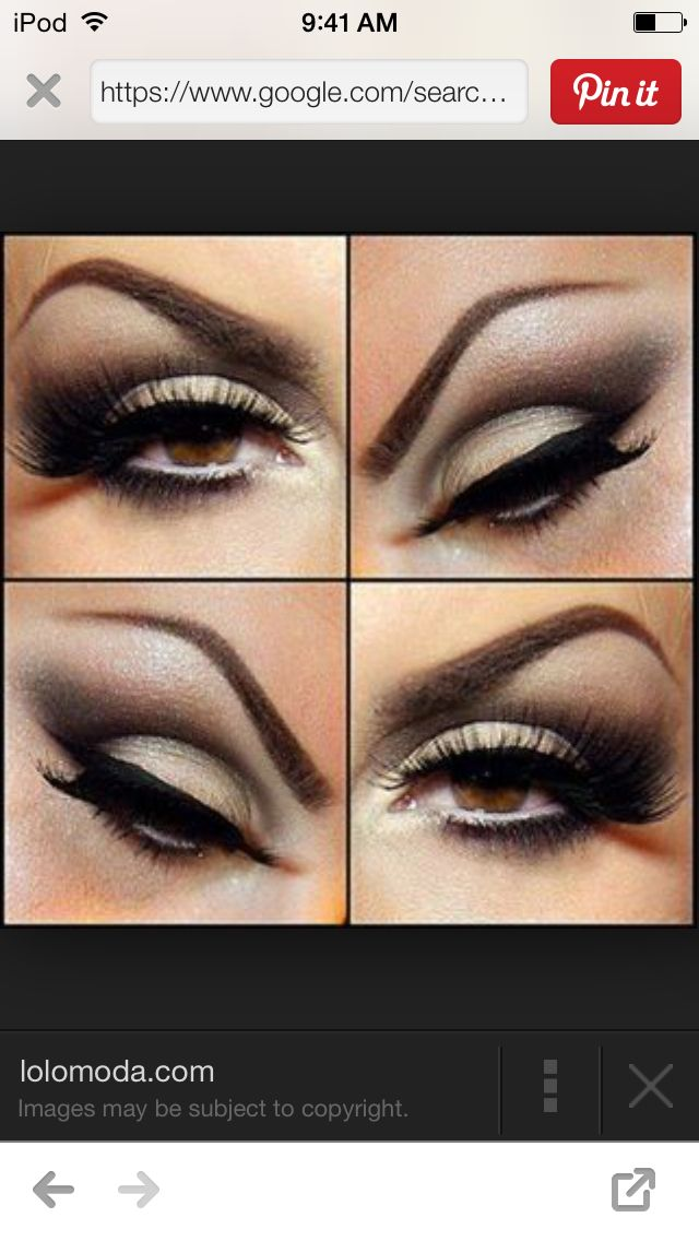 Of you out mascara with eyeliner it looks really pretty but it looks pretty with or without