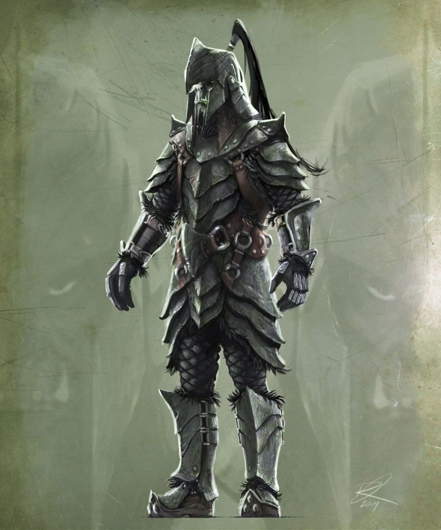 Orc Armor from The Elder Scrolls V: Skyrim | Personally, I