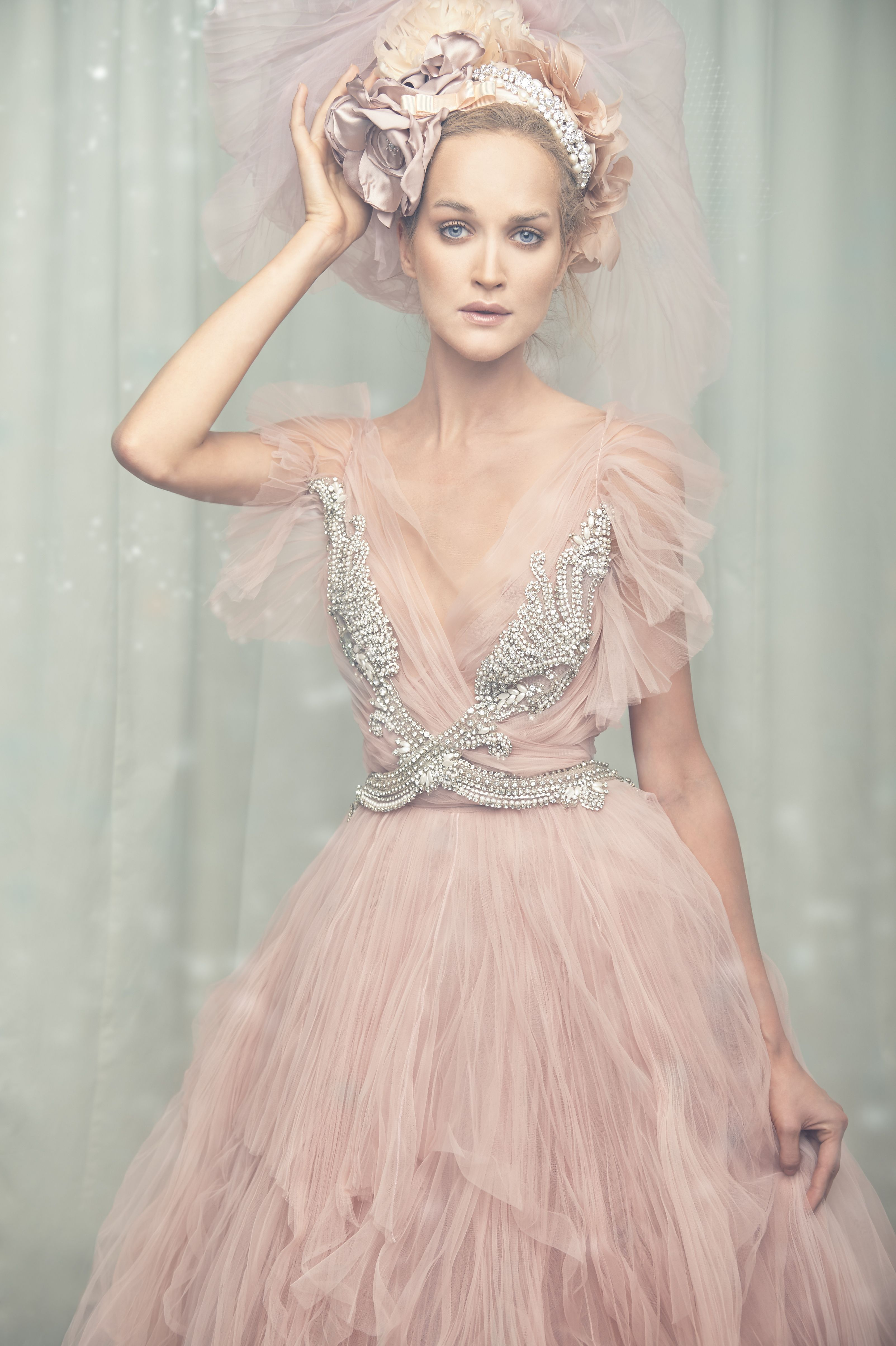 Marco & Maria 2015 Bridal and Evening Collection Photographer ...