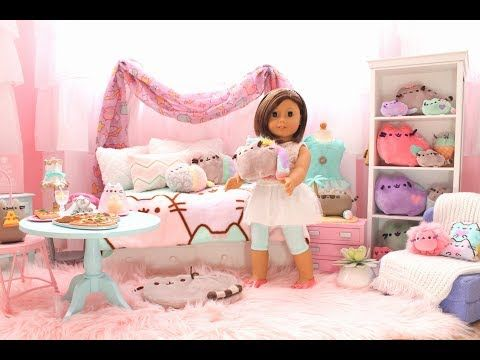 American Girl Doll Couch And Chair Tutorial Diy How To Make Youtube American Girl Doll Room American Girl Doll House American Girl Doll Furniture