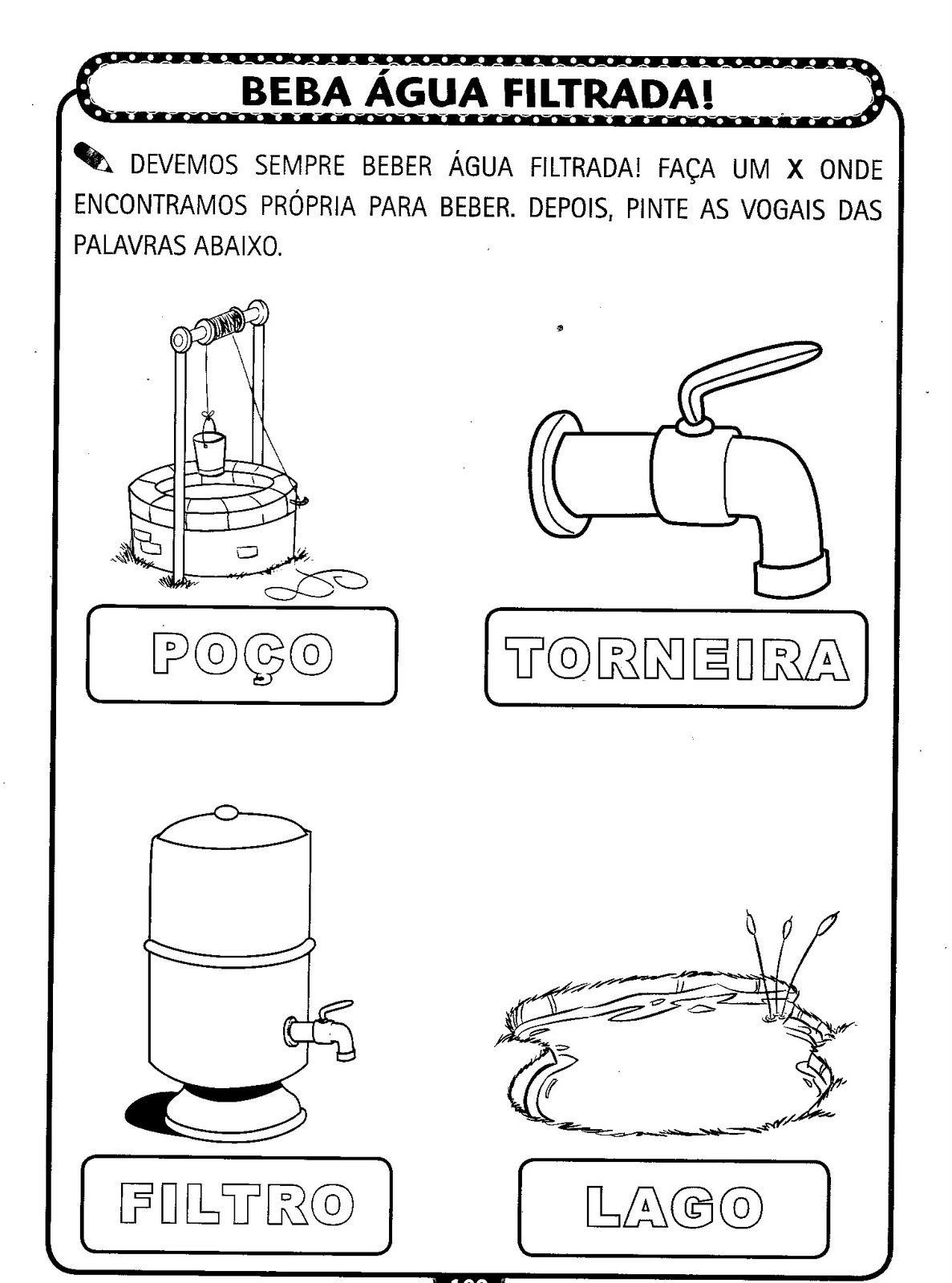 Pin De Edme Em Alfabetizacao Em 2020 Desenho Sobre A Agua