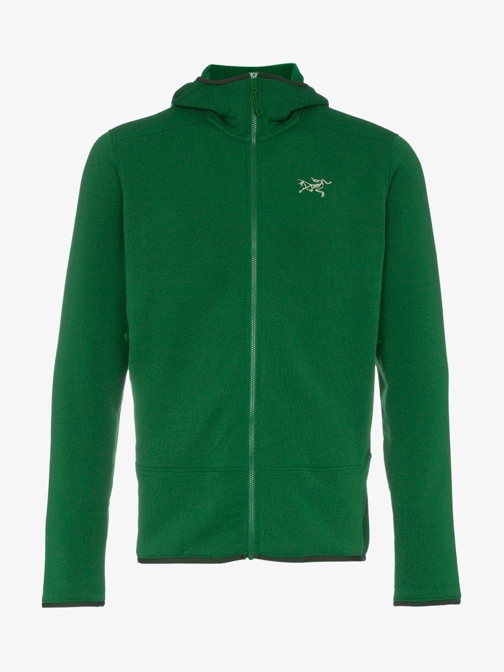 Green Kyanite Hd Hooded Jacket