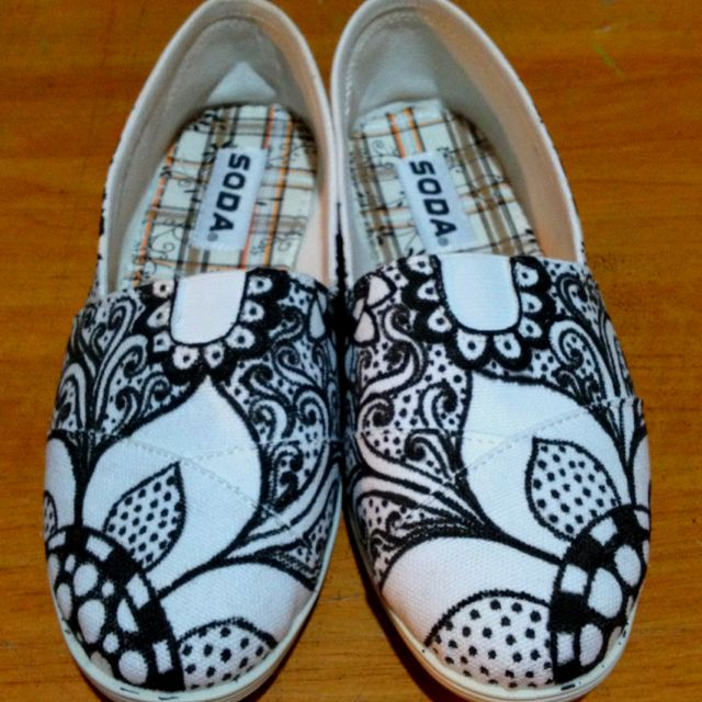 My doodle shoes!
