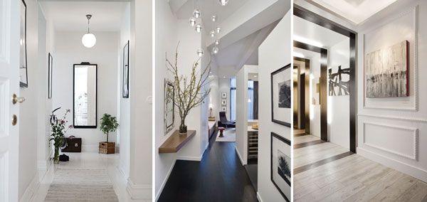 Decoraci n de entradas y pasillos modernos ideas para el for Espejos decorativos para pasillos