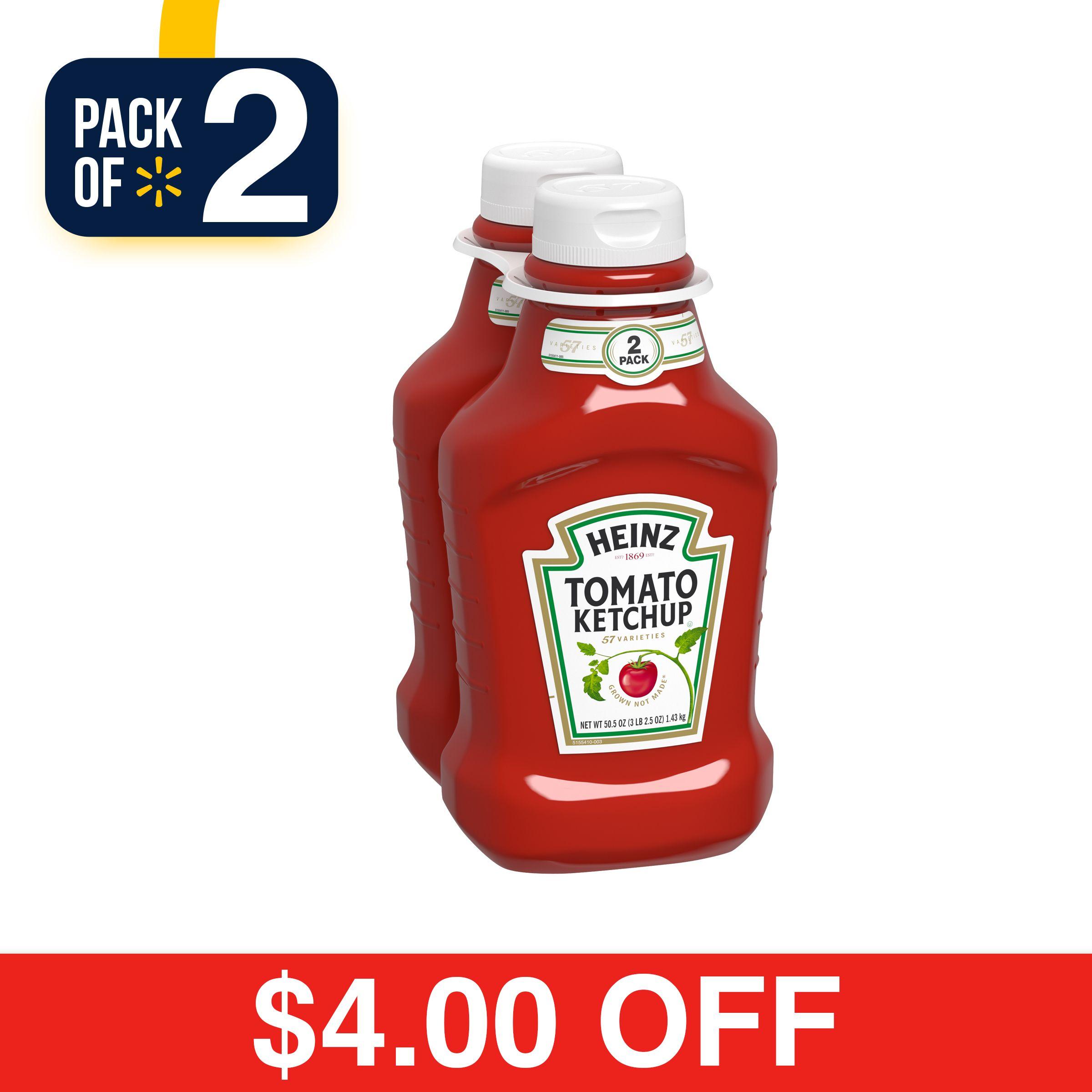 Heinz tomato ketchup 2 505 oz multipack salty snacks
