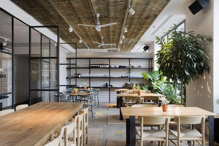 sandra tarruella interioristas | ana la santa restaurant, madrid (photo by meritxell arjalaguer)