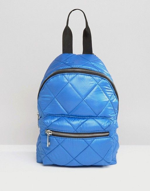 ASOS | ASOS Mini Quilted Nylon Backpack