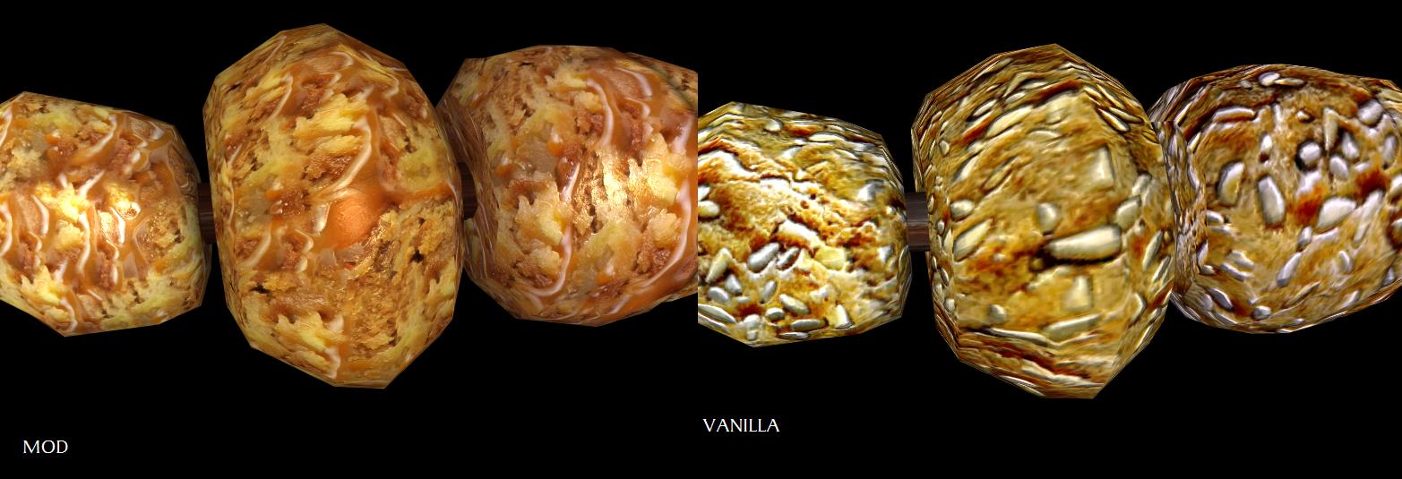 Photo of Better Honey Nut Treats at Skyrim Nexus – mods and community