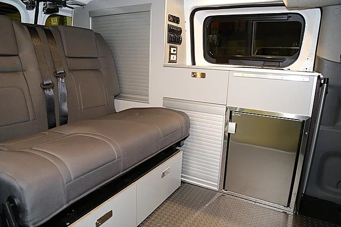 Recon Campers On Nissan Nv200 Rvs Van Conversion Pinterest