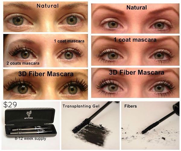 FabuLASHes without the glue or expense! Moodstruck 3D Fiber Lash Mascara by Younique! Www.youniqueproducts/AngelaBaisler