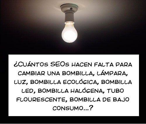 Seo Humor Bombillas Bombilla Halogena Y Chistes