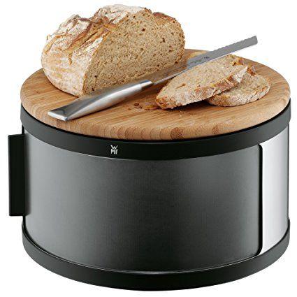 WMF Brottrommel mit Schneidbrett Gourmet: Amazon.de: Küche & Haushalt