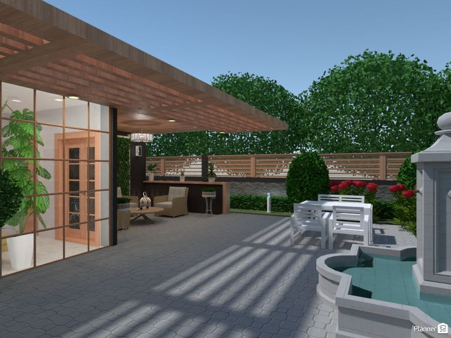 Architecture Outdoor Space Planner 5d Design Your Dream House Architecture Home Planner