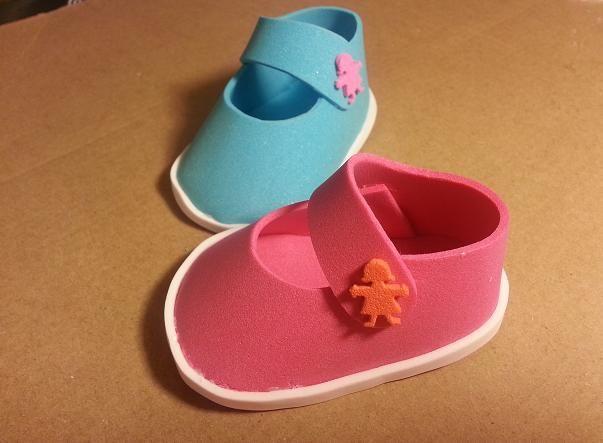 Zapatillas en goma eva moldes paso a paso - Imagui