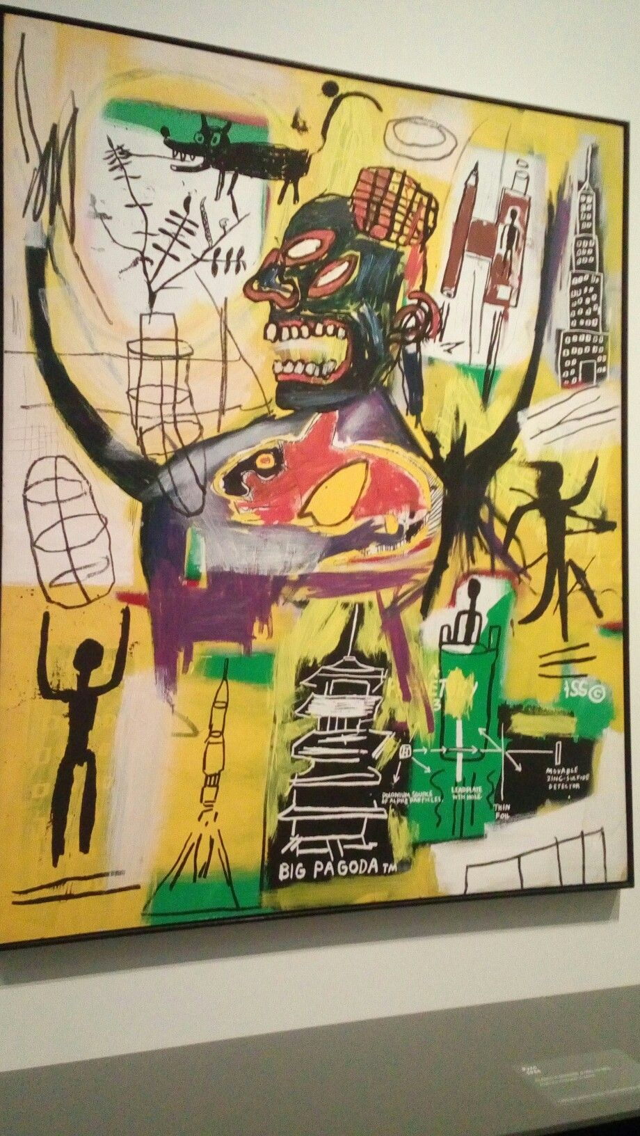 """Pyro"" of Basquiat 1984"