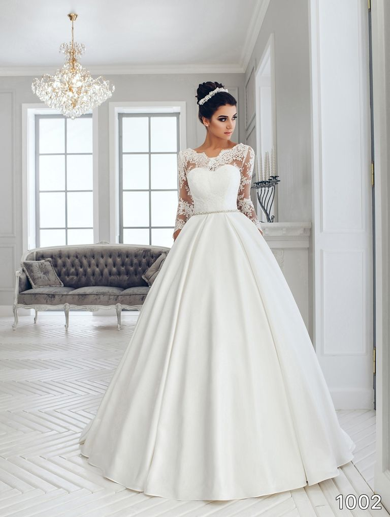 d27aef7b0d36 View Dress - Sans Pareil Bridal Collection  1002 - Ball gown with beaded…