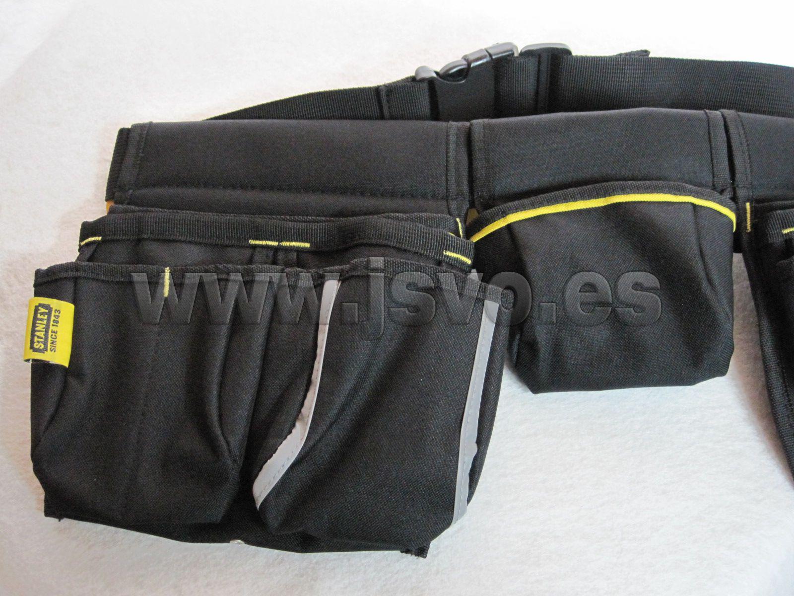 Delantal portaherramientas Stanley ® • Tejido muy resistente 600X600  denier. • Múltiples bolsillos y compartimentos de varias medidas. 9e378a85934e