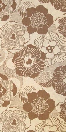 Truffella 70s Vintage Wallpaper Textile And Pattern