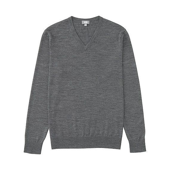 vente en ligne nouveau style de vie Style magnifique UNIQLO H PULL MERINOS EXTRA FIN COL V | À acheter | Sweaters ...