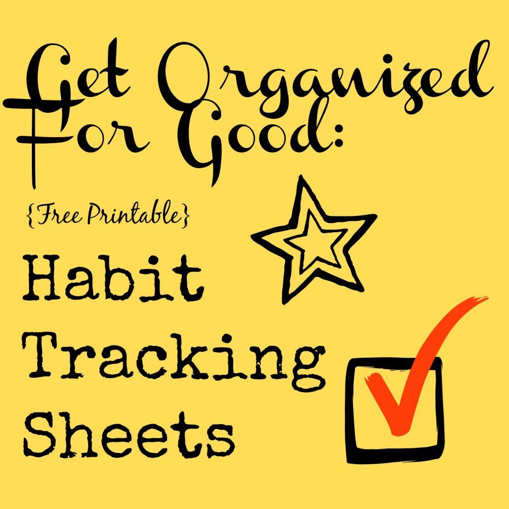 Free Habit Tracker Printable