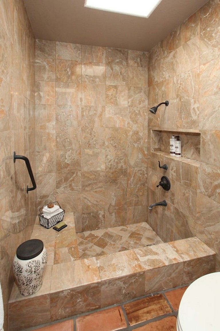 75+ Beautiful Small Bathroom Shower Remodel Ideas - Page ...