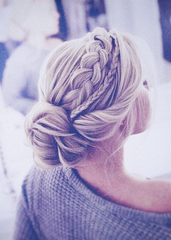 Photo of Pretty Messy The Braided Bun Updo For Any Occasion  Hair Tutorials  messy hairs …