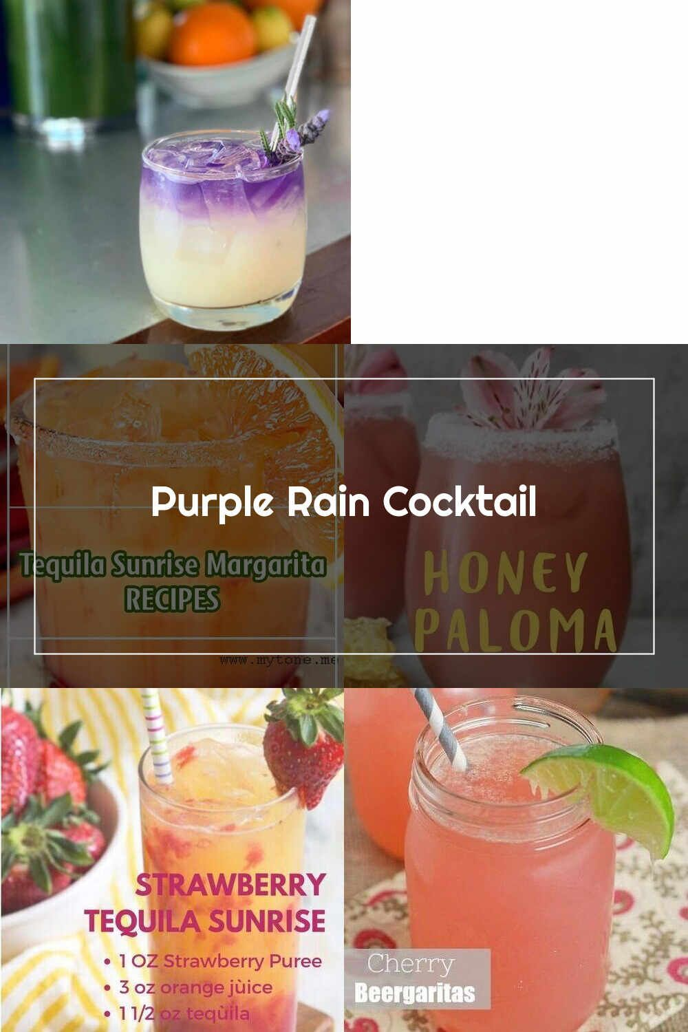 Tequila Drink Purple Rain Cocktail In 2020 Tequila Drinks Tequila Tequila Cocktails