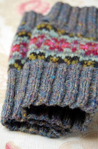 Ravelry: hgd11's Fair Isle Mitts | 1funkyknitwit | knitspiration ...