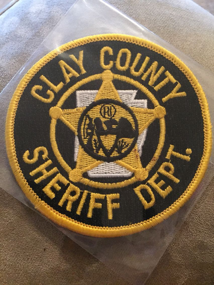 Clay County SO   Arkansas Sheriff Department's Patches