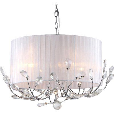 Youll love the grisella 9 light crystal chandelier at wayfair great deals