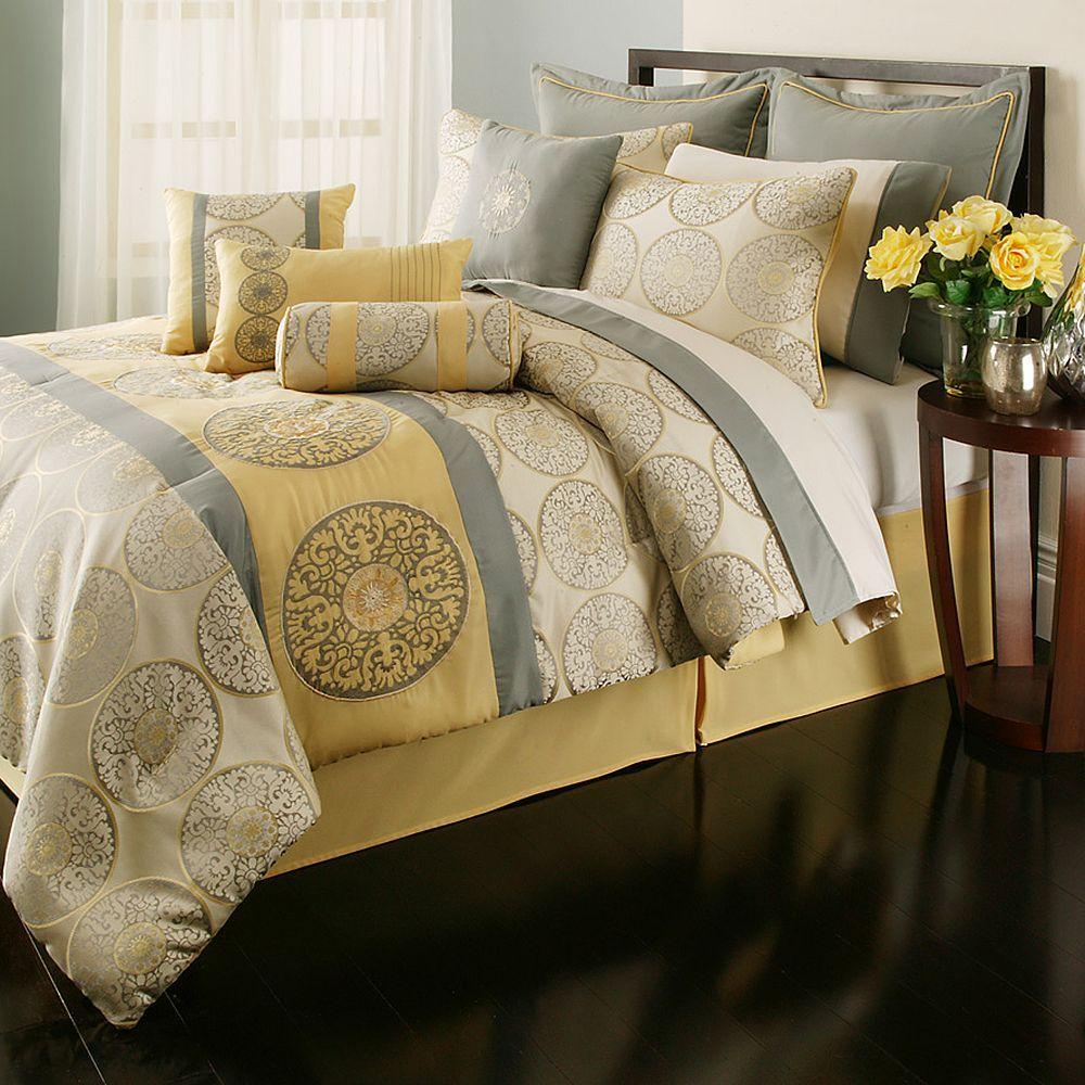 Home Classics Haley 12-pc. Comforter Set - Queen ...