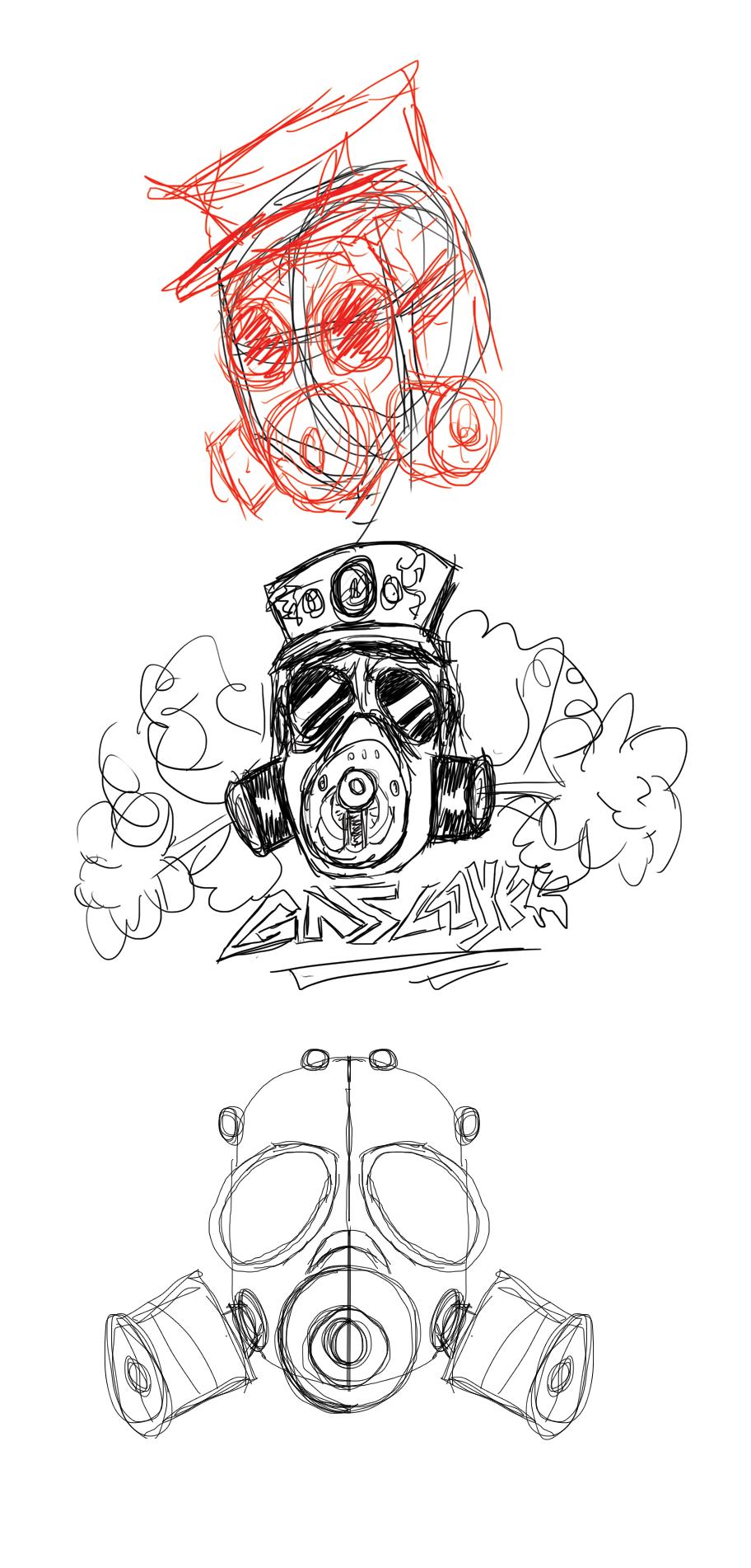 Create a Badass Gas Mask in Illustrator Abduzeedo Design
