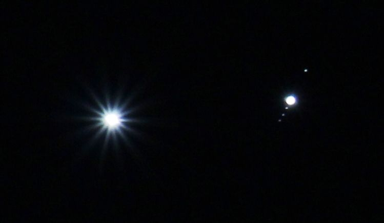 Venus-Jupiter.Leo constelación