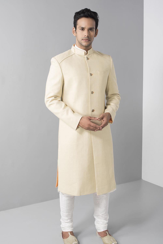 Pin On Plain Sherwani For Men Wedding Sherwani [ 1498 x 1000 Pixel ]