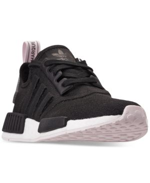 cf2b0649efb7d adidas Women s Nmd R1 Casual Sneakers from Finish Line - Black 6 ...