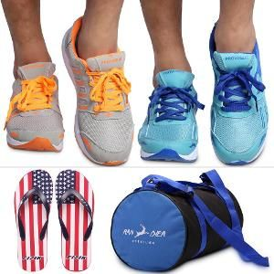 Men's Sport Shoes, Flip Flops, \u0026 Gym