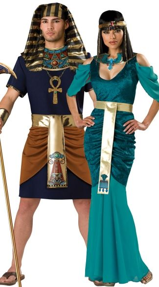 egyptian rulers couples costume pharaoh and queen couples costume pharaoh and cleopatra couples costume - Mens Couple Halloween Costumes
