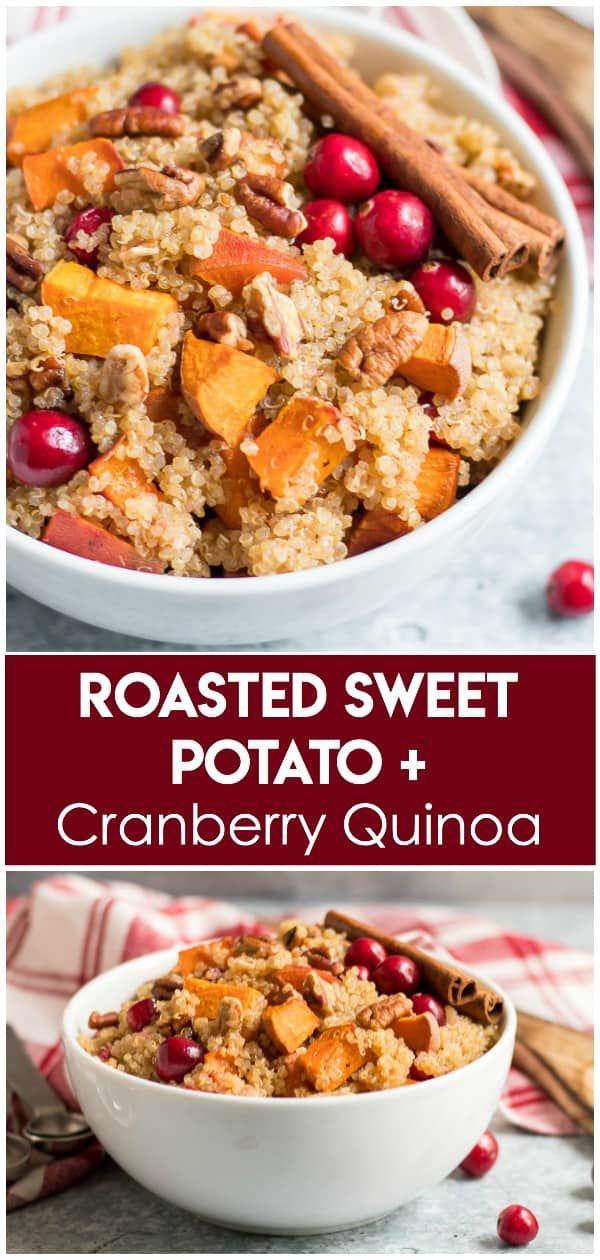 Photo of Roasted Sweet Potato Cranberry Quinoa