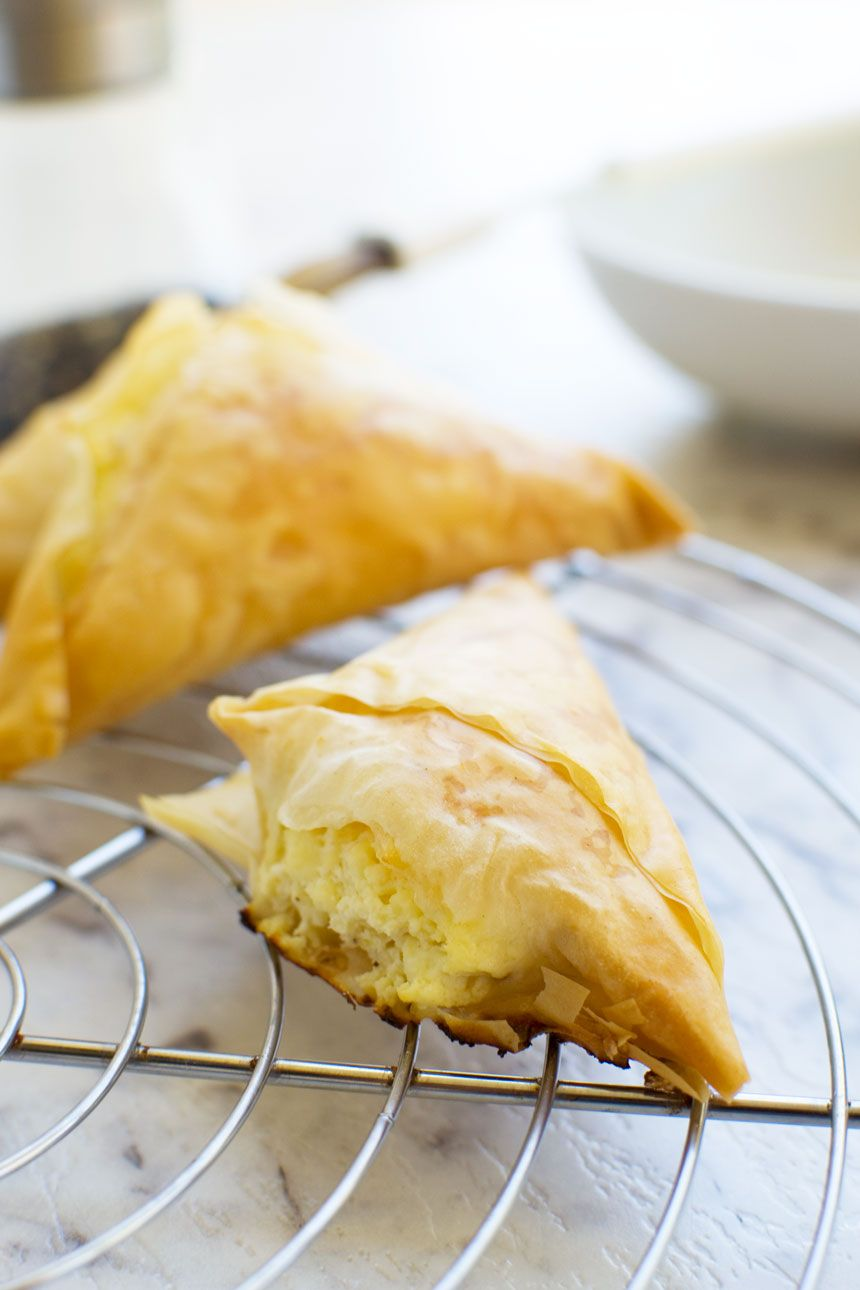 These crowd pleasing and super easy make-ahead mini Greek cheese pies (tiropita!) will liven up any