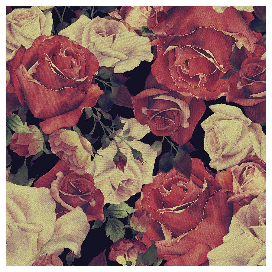 """Josephine amovible de 5' x 20"""" Floral papier peint"""