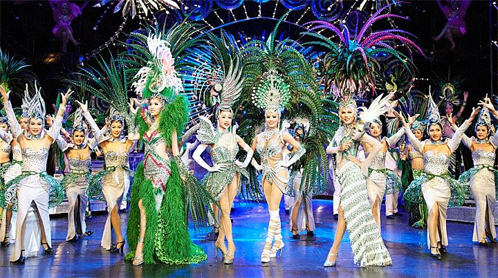 Famous Cabaret, Tiffany's Show in Bangkok, Thailand.