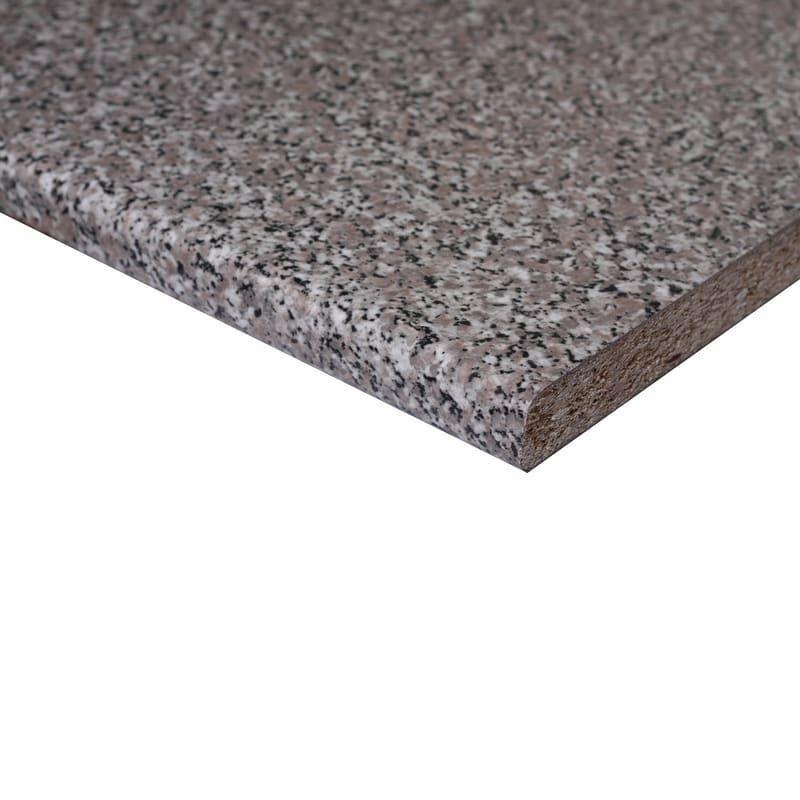 Piano cucina granito baveno L 304 x H 60 cm, spessore 2.8 cm ...