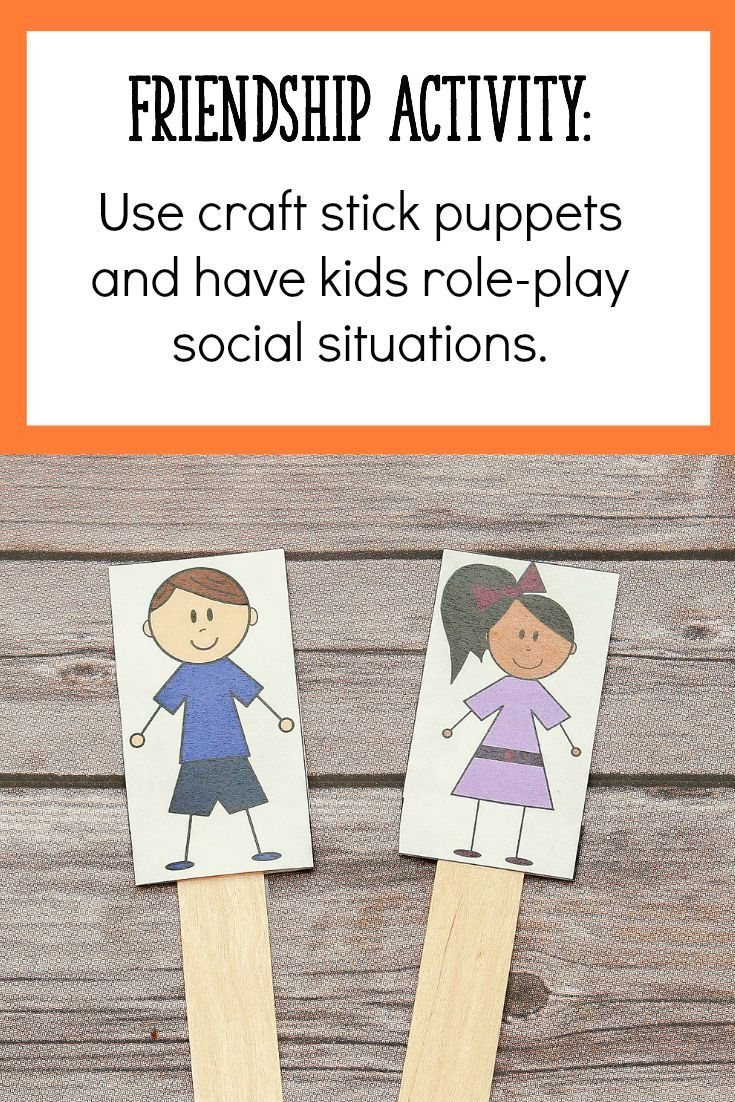 Friendship Craft Ideas Kids Part - 18: Click Through To The Post To Read About 2 More Friendship Activities  Perfect For 4-
