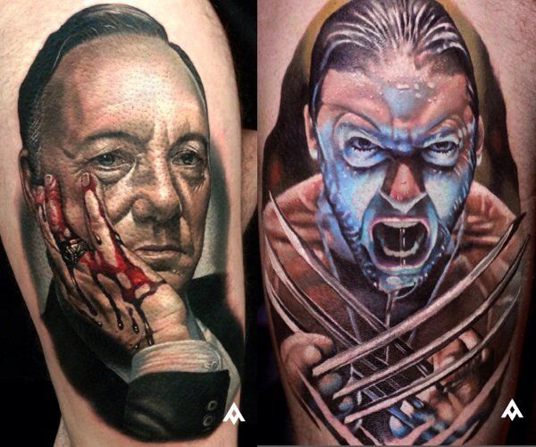 Epingle Sur Colorful Tattoos From Traditional To Realistic