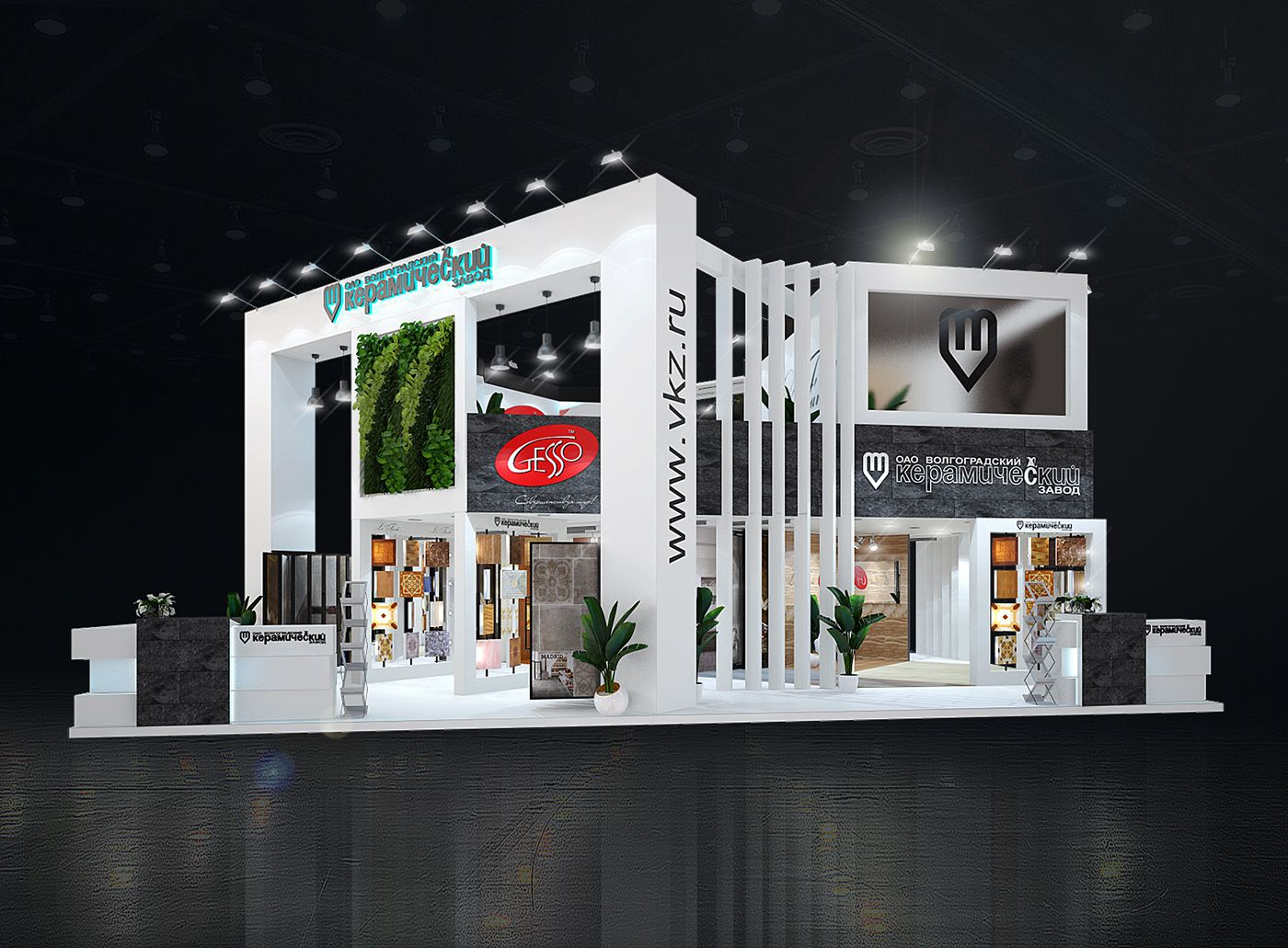 ВКЗ batimat russia new exhibition stand design
