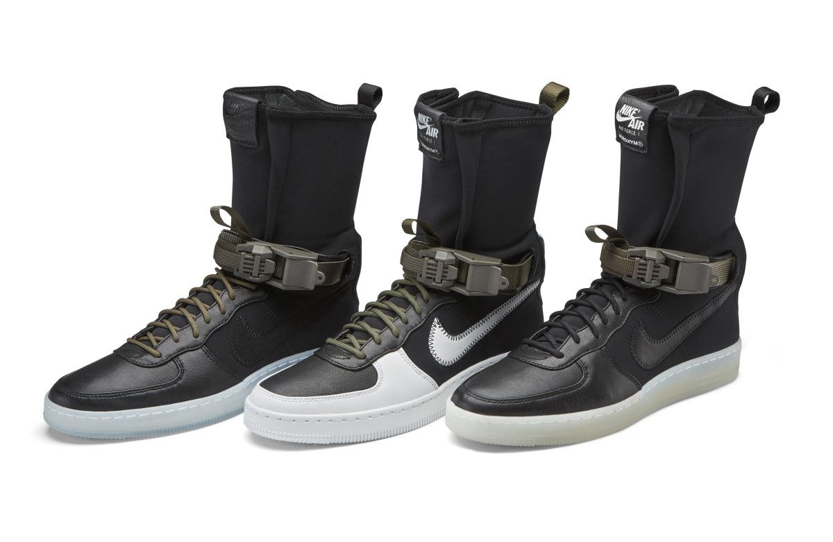 Where and when to buy NikeLab x Acronym Air Force 1 Downtown