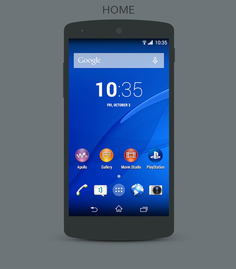 Real Xperia Z3 CM11 Theme v1 0 | ApkLife-Android Apps Games Themes