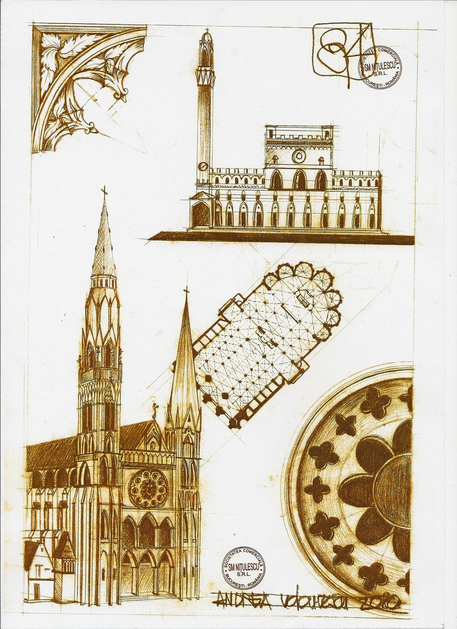 Arquitectura Gótica por dedeyutza