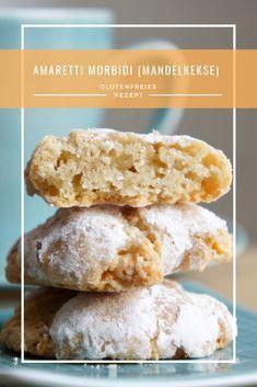 REZEPT: weiche glutenfreie Amaretti (Mandelkekse) #glutenfreierezepte